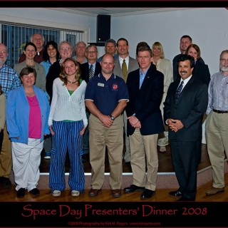 space day 2008 presenter group
