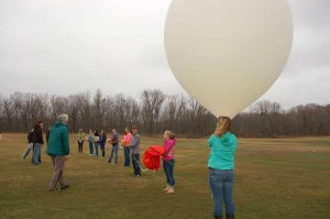 2013 balloon launch